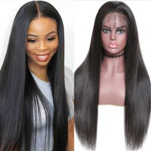 13x4 lace front straight wig