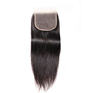 New Arrival Best Silky Straight 1 Piece 5x5 Inch Transparent Lace Closure