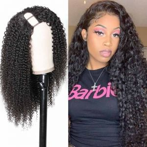 Right Side Kinky Curly U Part 2*4