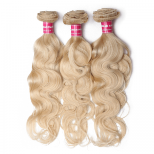 Donmily Blonde 613 Body Wave 3 Bundles Human Hair