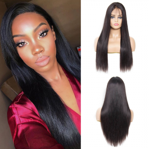 Straight 13*4 Lace Frontal Wig 150% Density