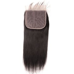 Donmily Straight Virgin Human Hair 7x7 Lace Closure