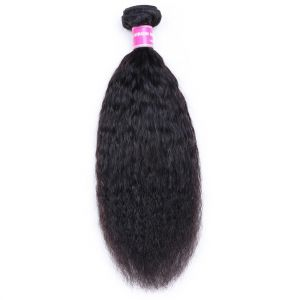 Donmily Kinky Straight One Bundle Human Hair