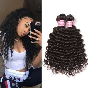 Donmily Malaysian Deep Wave 4 Bundles Human Hair