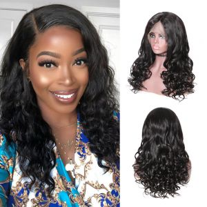 natural wave human hair wigs