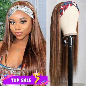 Headband Hightlight Wig