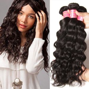 Donmily Indian Natural Wave 3 Bundles Human Hair