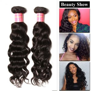 Donmily Peruvian Natural Wave 3 Bundles Human Hair