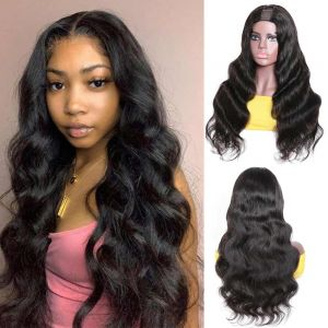Donmily Body Wave U Part 150% Density Human Hair Wig Glueless Natural Looking Hairline