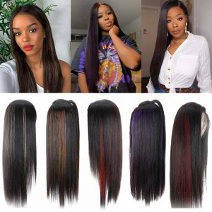 Donmily Straight 13x4 Lace Front Wig 150 Density