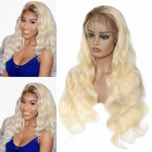 Donmily 360 Lace Frontal Wig T4613 Body Wave 180% Density