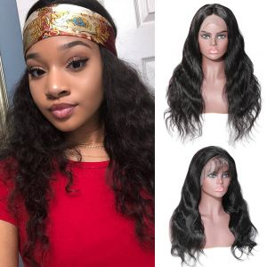 Body Wave 4*4  Lace Front Wig 180% Density