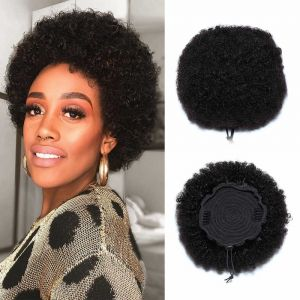 Donmily Afro Curly Wig 100% Human Hair