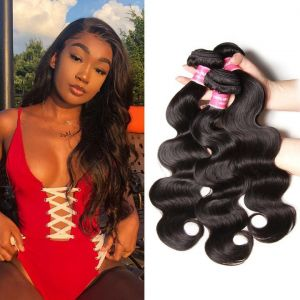 Donmily Brazilian Body Wave 3 Bundles Human Hair