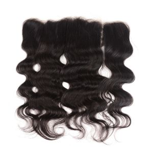 Donmily Body Wave Virgin Human Hair Transparent 13x4 Lace Frontal
