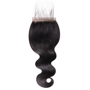 Donmily Body Wave 5x5 Lace Closure Baby Hair Free Part