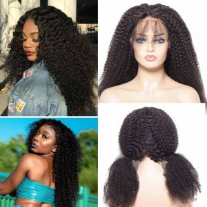 Donmily Kinky Curly 13x4 Lace Front Wig 150% Density