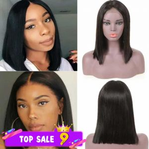 13x4 lace front wig straight bob style