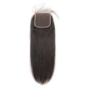 Donmily Straight Hair 5x5  Lace Closure Free Part 1pc