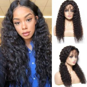 Donmily 13x4 Jerry Curl Lace Front Wig 130% Density With Baby Hair