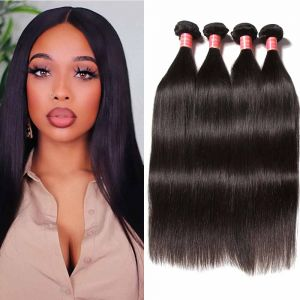 Donmily Malaysian Straight Hair 4 Bundles