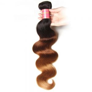 Donmily Ombre Brazilian Body Wave 1 Bundle Human Hair