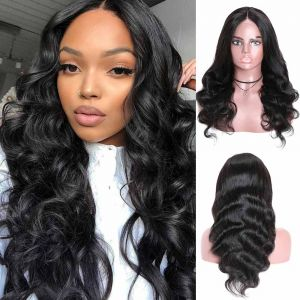 Donmily Body Wave 4x4 Lace Wigs With Natural Hairline Pre Plucked 150% Density