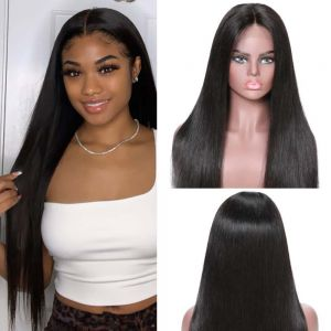Donmily Straight 13*6 Lace Front Wig 150% Density With Baby Hair