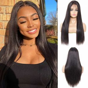 Donmily Pre-plucked Straight 13*4 Lace Frontal Wig 150% Density