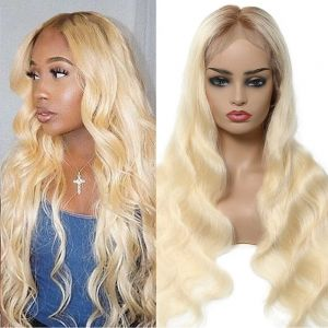360 lace frontal wig body wave t4613