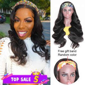 Donmily HeadBand Wig Body Wave 150% Density 1
