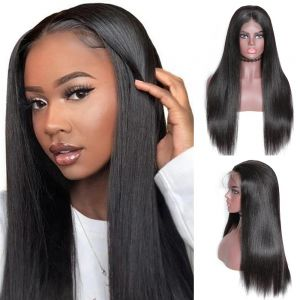 Donmily Straight Transparent 13x6 Lace Front Wig 150% Density