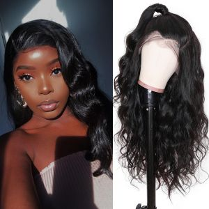 Donmily 13x4 Brazilian Body Wave Lace Front Wig 180% Density
