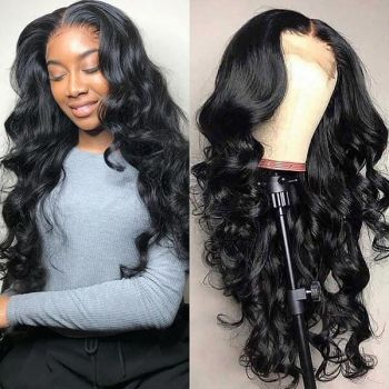 13 4 lace front wig body wave  baby hair