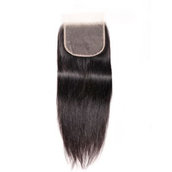 New Arrival Best Silky Straight 5x5 Inch Transparent Lace 1 Piece