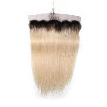 Donmily Top Grade T1B/613 Color Straight Hair Lace Frontal Closure Free Part