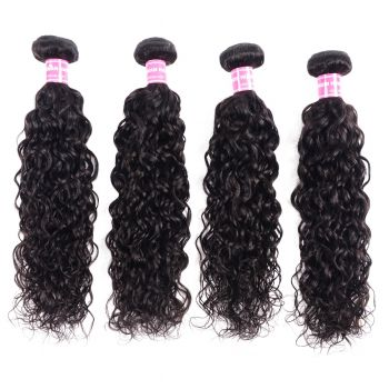 Donmily New Loose Wave 4 Bundles Human Virgin Hair