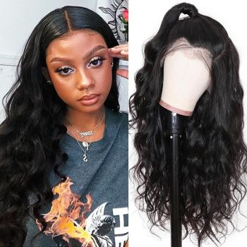 4 4 lace front wig body wave