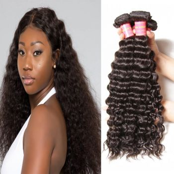 Donmily Malaysian Natural Wave 4 Bundles Human Hair