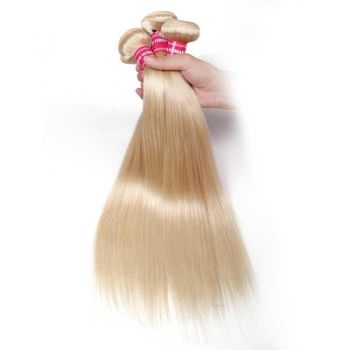 DONMILY Straight Hair Bundles Color 613 Blonde Hair 100% Remy Human Hair Weaving 3pcs/lot Free Shippping