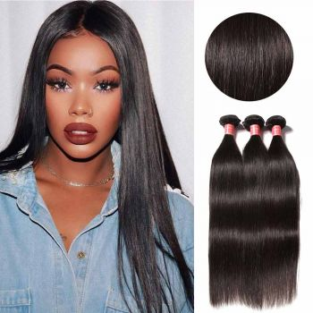 Donmily Indian Straight Hair 3 Bundles