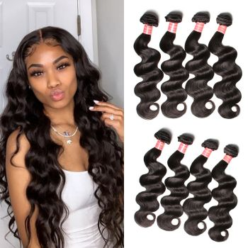 Donmily Peruvian Body Wave Hair 4 Bundles