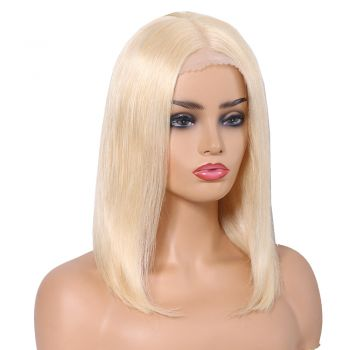 "Donmily fashion straight BoB wig 8""-14""inch color 613#  13*6  lace front wig 150% virgin human hair"