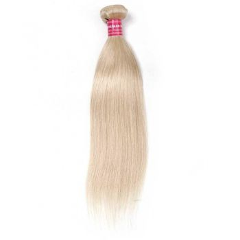 Blond 613# Straight Hair Weave 10'-24' 1 Bundle 100% Human Hair Weave