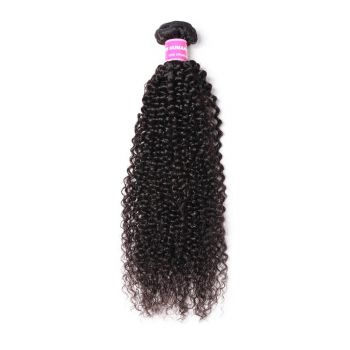 Donmily 1 Bundle Kinky Curly Virgin Human Hair