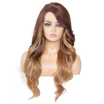 Donmily Side Part Body Wave Wig Long Human Hair