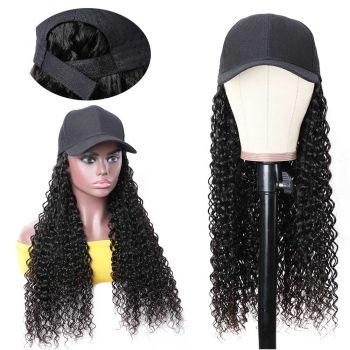Jerry curly cap wig