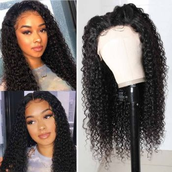 Donmily Double U Jerry Curly Wigs 1