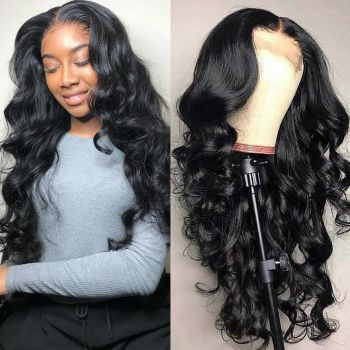 Body Wave 130% & 150% Density 13*4 Lace Front Human Hair Wigs With Baby Hair, 10''-26'' Brazilian Hair Wigs-Donmily
