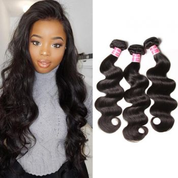 Donmily Peruvian Body Wave 3 Bundles Human Hair